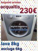 Hotpoint Aqualtis Lava 8 KG Asciuga 6 KG