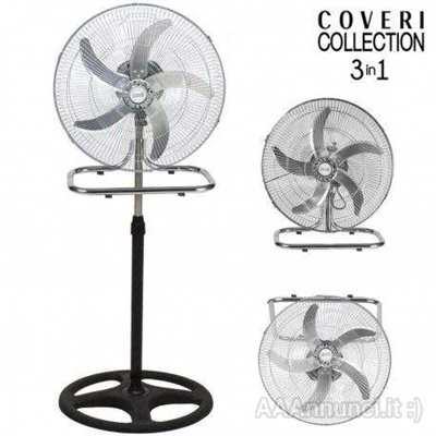 Ventilatore 3in1 Piantana Da tavolo Parete 3 Velocita