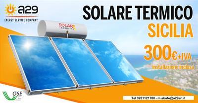 Solare termico da 300lt in Formula Esco