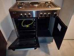 Cucina Forno a gas con piastra elettrica