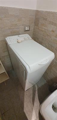 Lavatrice Carico Alto compatta INDESIT 6kg bianco