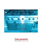 Cucina a gas sei fuochi con forno Zanussi serie 90