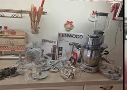 Kenwood Cooking chef 098 major + accessori AT910